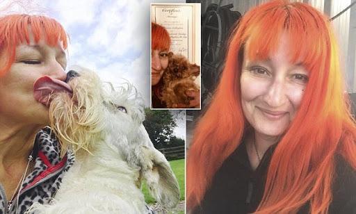 رابطه جنسی یک زن با سگش