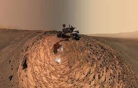 ارسال سلفی از مریخ توسط کاوشگر چینی
