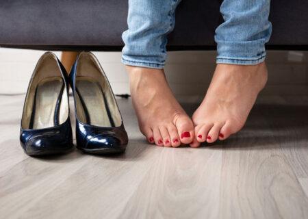 درمان بوی بد پا در اثر تعریق