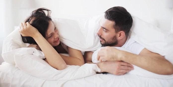 صحبت در حین رابطه جنسی