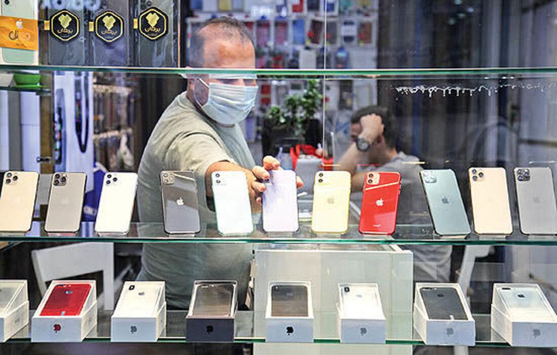 نوسانات قیمتها دربازارموبایل