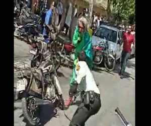 اولین گفتگو باامام زمانقلابی شهر اصفهان