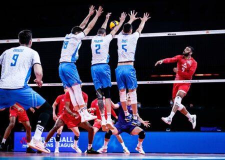 زمان بازی والیبال ایران و اسلونی