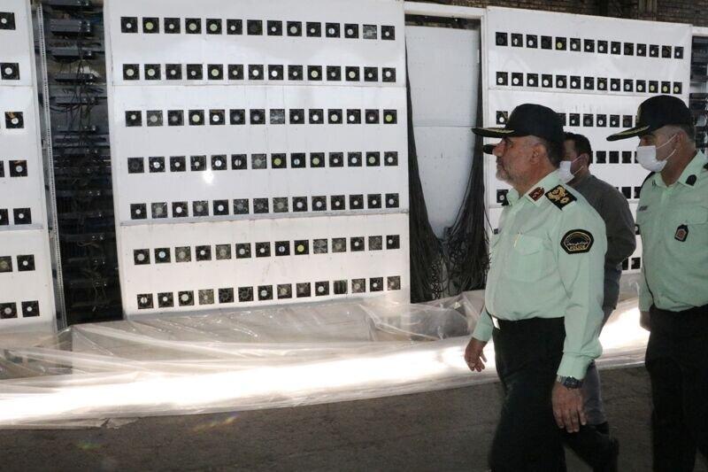 بزرگترین مزرعه رمز ارز ایران که تاثیر زیادی بر کمبود برق پایتخت داشت