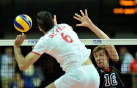 بازی والیبال ایران و آلمان/ ایران 2 آلمان 3