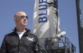 صندلی۲۸ میلیون دلاری سفر به فضا به همراه جف بزوس