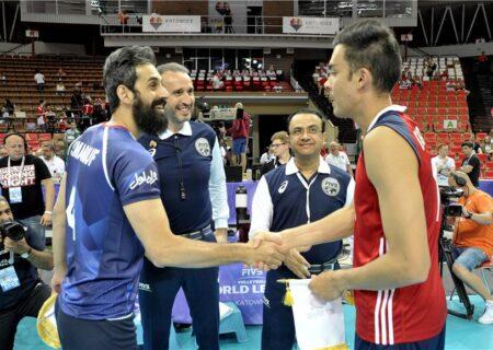 حساس ترین بازی والیبال/ایران به مصاف آمریکا می رود!