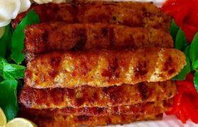 طرز تهیه کباب مرغ تابه ای/یک غذای بسیار لذیذ و راحت