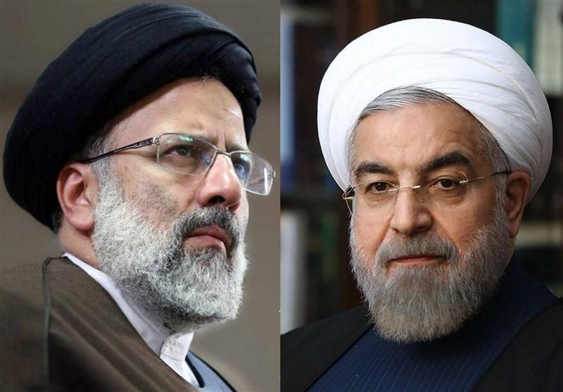 قیاس سخنرانی روحانی و رئیسی پس از پیروزی