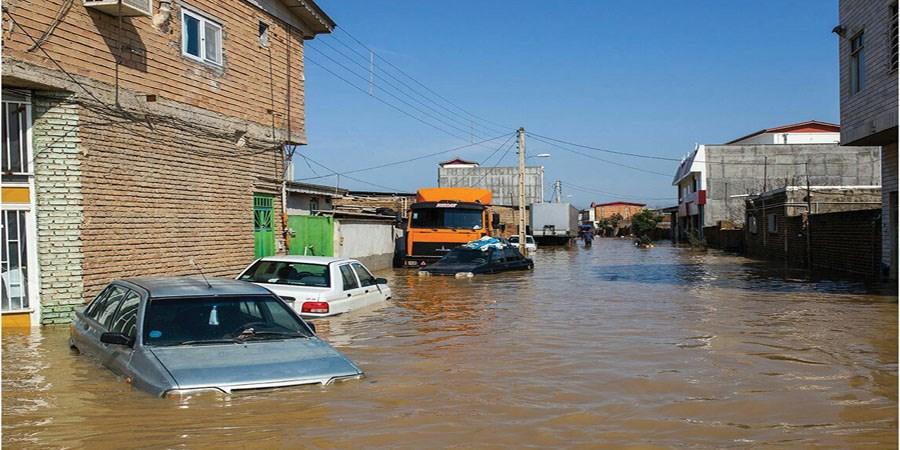 وقوع سیلاب ناگهانی