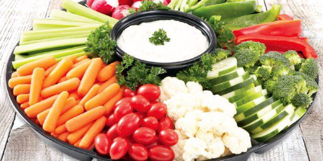 صبحانه های مضر/سبزیجات خام