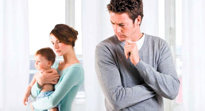 دعوای زوج ها بعد از تولد نوزاد