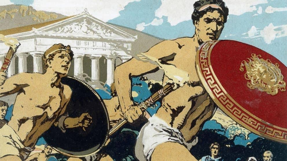 بازی های المپیک در یونان باستان