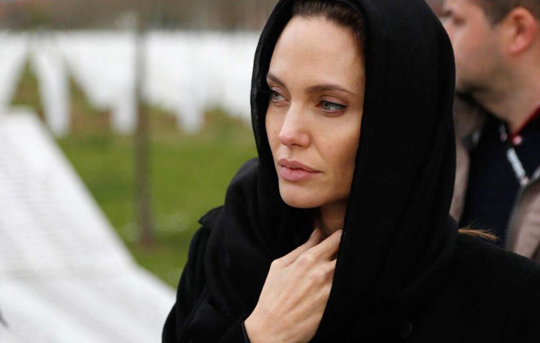 آنجلینا جولی برای حمایت از مردم افغانستان به اینستاگرام پیوست!