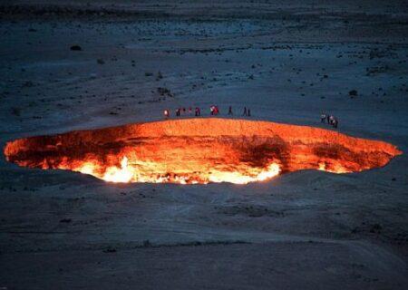 چاه برهوت، معروف به چاه جهنم/مکانی مرموز و عجیب+فیلم