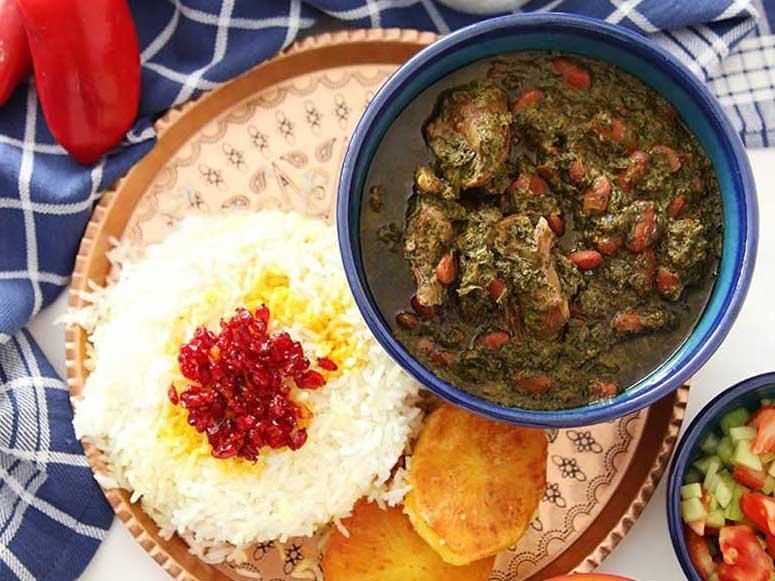قورمه سبزی/انواع خورشت ایرانی