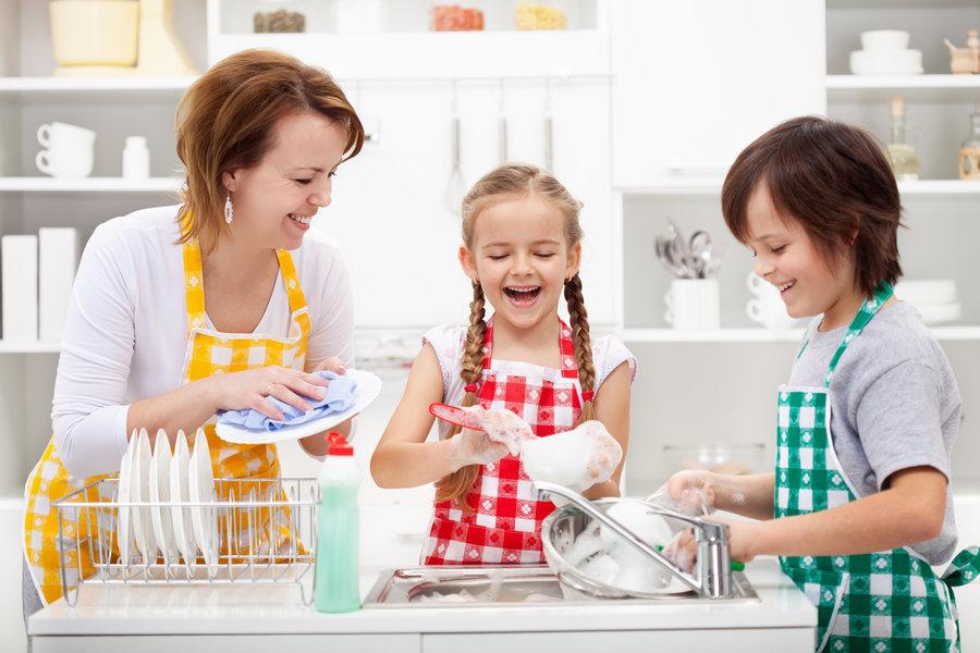 کمک در کارهای خانه