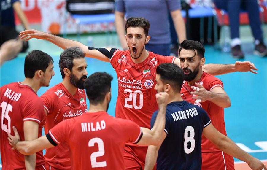 پیروزی تیموالیبال جوانان ایران
