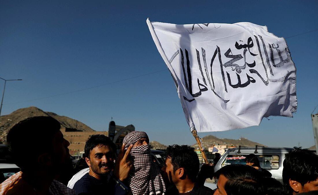 پرچم طالبان و شباهت با پرچم داعش