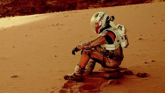 فیلم مریخی/فیلم فضایی