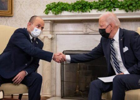 استعفای بایدن از مسند ریاست جمهوری/چرت زدن بایدن در دیدار نفتالی