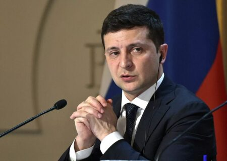 رییس جمهوری اوکراین از احتمال جنگ با روسیه گفت