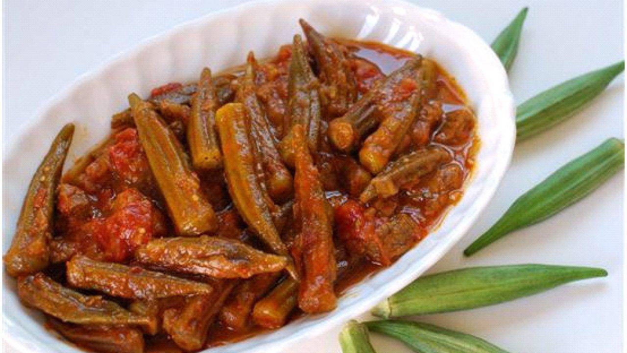 خورشت بامیه/انواع خورشت ایرانی