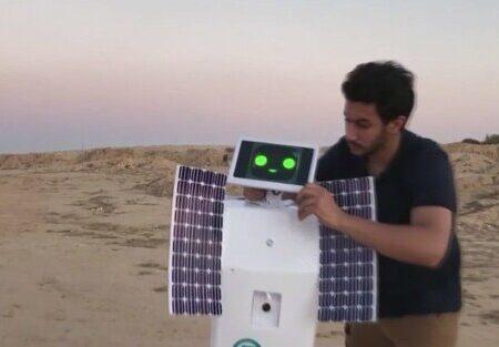 ساخت رباتی که میتواند در مریخ آب تولید کند