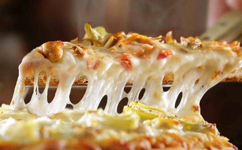کش آوردن پنیر پیتزا/ترفند های جالب