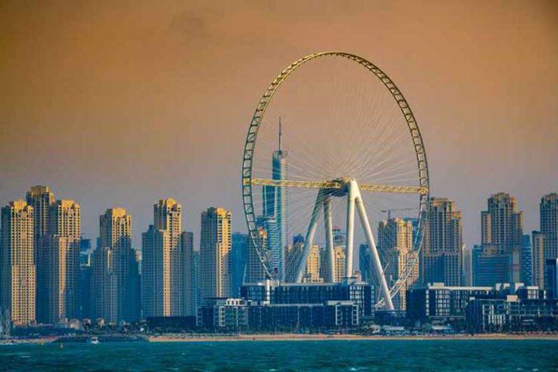 بلندترین چرخ و فلک جهان بزودی در دوبی آغاز به کار می کند!