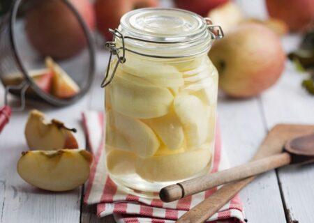 طرز تهیه کمپوت سیب/یک میان وعده و گارنیش خوشمزه