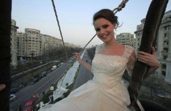 بلندترین لباس عروس دنیا