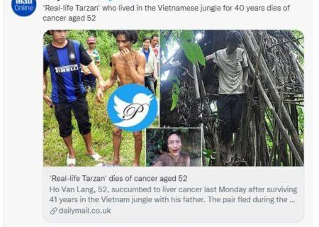 فوت تارزان واقعی در ۵۲ سالگی/عکس