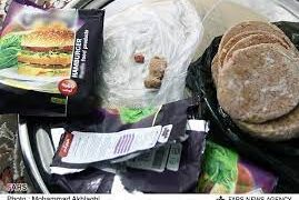 پلمپ مرکز تولید همبرگر ویژه غیر بهداشتی در نزدیکی شهریار/فیلم