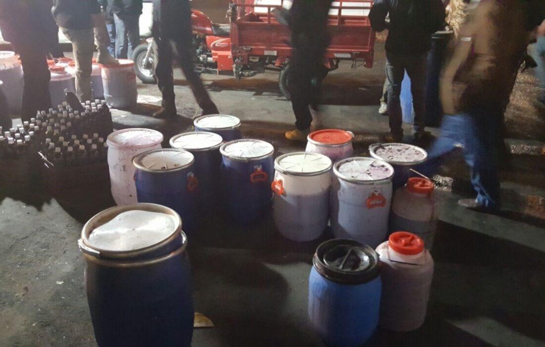 تولید مشروب در میادین تره بار تهران/برخورد دادستانی تهران
