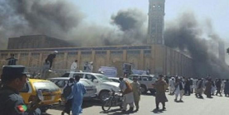 حمله انتحاری در مسجد شیعیانِ قندوز افغانستان/ فیلم دلخراش