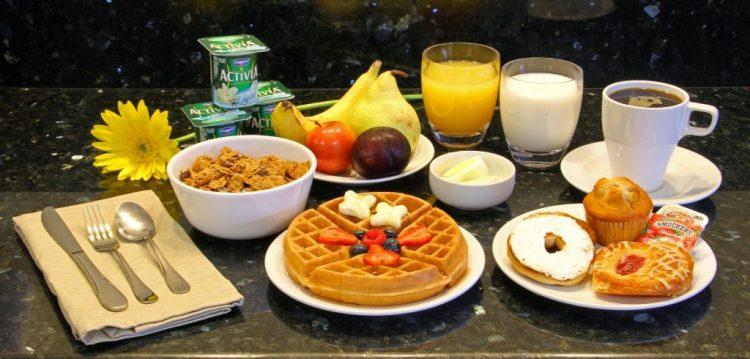 آماده کردن صبحانه